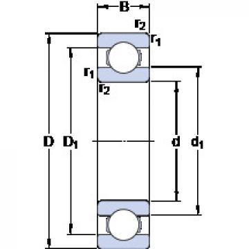 Rodamiento W 618/0.6 SKF