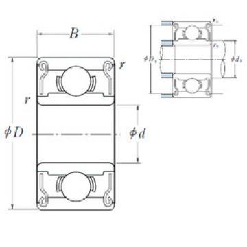 Rodamiento R 1-5 ZZ NSK