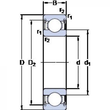 Rodamiento W 61701-2ZS SKF