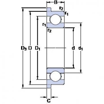 Rodamiento W 603 R SKF
