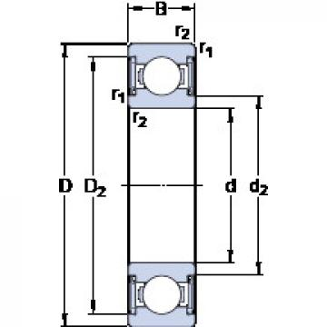 Rodamiento W 619/7-2RS1 SKF