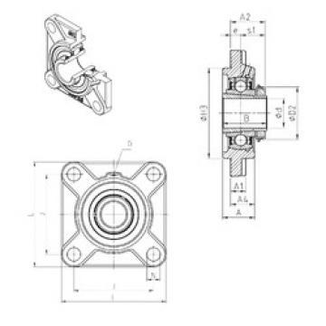 Rodamiento UKFS322H SNR