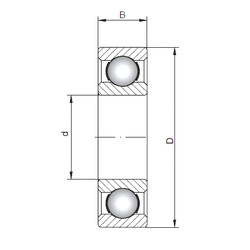 Rodamiento 16002 ISO