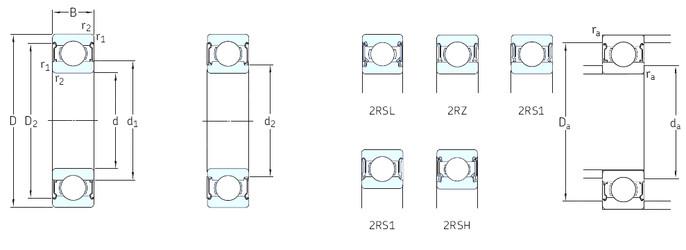 Rodamiento 16002-Z SKF