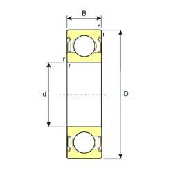 Rodamiento 6015-ZZ ISB