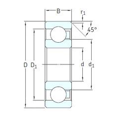 Rodamiento 16007/HR22T2 SKF