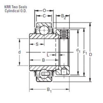 Rodamiento 1103KRR3 Timken