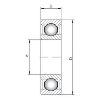 Rodamiento 16008 ISO
