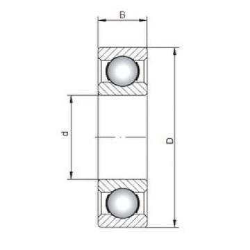 Rodamiento 6016 ISO