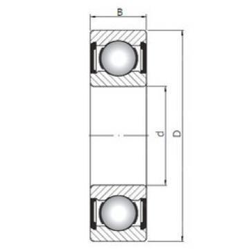 Rodamiento 6018 ZZ ISO