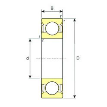 Rodamiento 6018-ZZ ISB