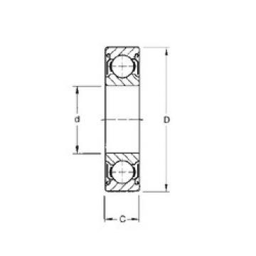 Rodamiento 6016-ZZ CYSD