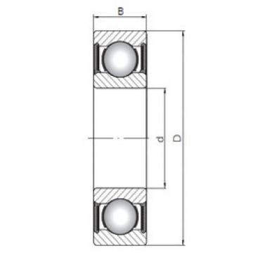 Rodamiento 6018-2RS ISO