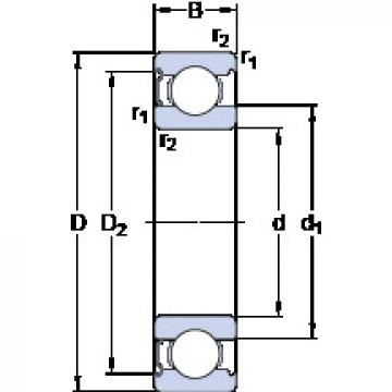 Rodamiento 6018-Z SKF