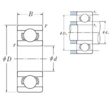 Rodamiento 601X ISO