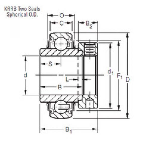 Rodamiento 1008KRRB Timken #1 image
