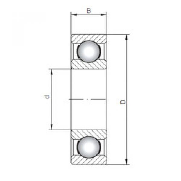 Rodamiento 16007 CX #1 image