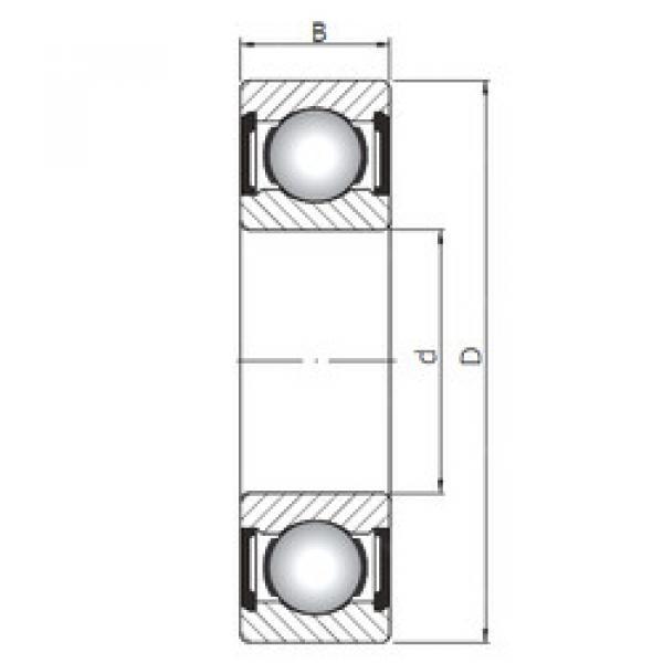 Rodamiento 16004 ZZ CX #1 image